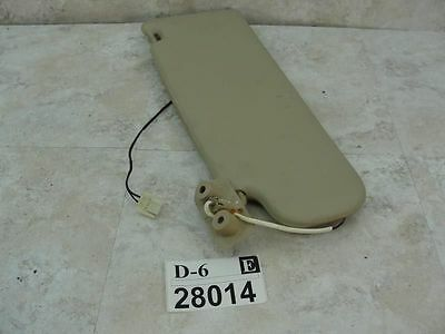 1999-2000 S70 RIGHT PASSENGER SIDE FRONT SUN VISOR VANITY ...