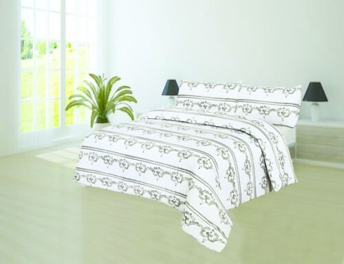 Big List Of All Sizes 100/% Egyptian Cotton Printed Duvet Cover Sets Bedding Sets