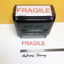 Fragile Rubber Stamp Red Ink Self Inking Ideal 4913