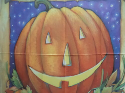 """Pumpkin and Crows BIG House Flag by Toland 36/""""x54/"""" #1221"""