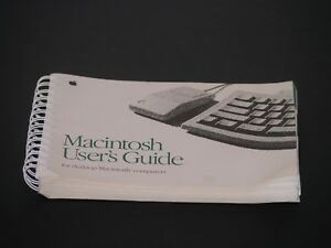 Vintage-Apple-1991-Original-Macintosh-Spiral-User-039-s-Guide-For-Desktop-Computers