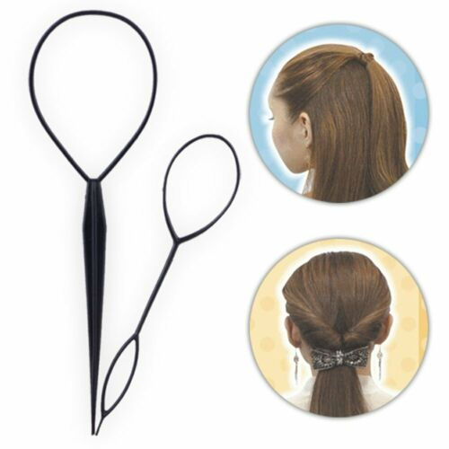 Hair Loop Styling Tool Pferdeschwanz Brötchen Maker Haar Brötchen Maker Clip Haa