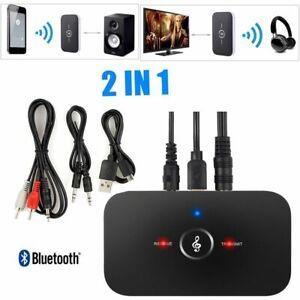 Hifi-Sans-Fil-Bluetooth-Audio-Recepteur-Transmetteur-3-5mm-Adaptateur-TV-MP3-PC