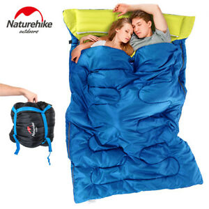 Details About Naturehike S Double Sleeping Bags Camping Outdoor Hiking Bag