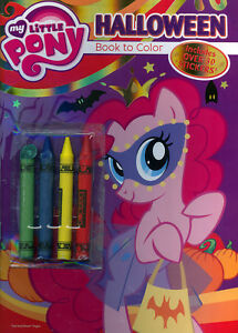 Image Is Loading My Little Pony Coloring Book RARE UNUSED