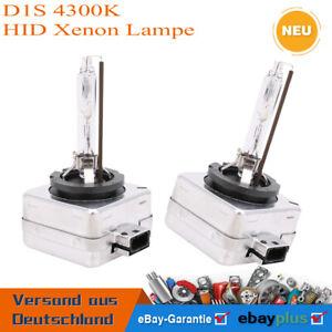 2 D1S HID Xenon Brenner Birne Birnen Lampe Leuchte Licht 4300K 35W D1S HID XENON