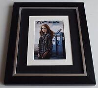 Karen Gillan SIGNED 10x8 FRAMED Photo Autograph Display TV Doctor Who AFTAL COA