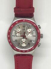 2006 Swatch Watch Endlessly YCS460 Irony Chrono Orologio Armbanduhr Reloj