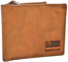 Portafoglio Uomo Napapijri Wallet Men Rugged Billfold 12CC + Zip N8G06