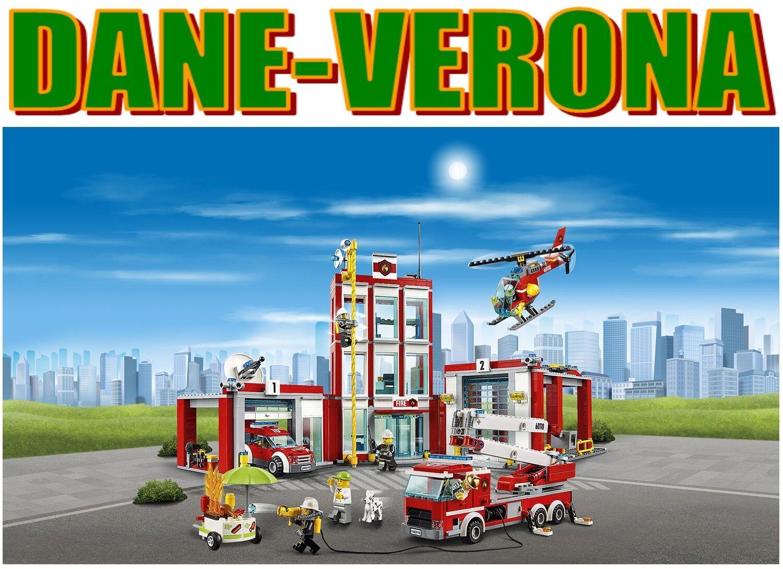 Lego - CASERMA DEI POMPIERI -  Fire Station (60110) città Pompieri  è scontato
