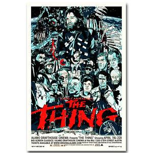 THE THING Movie Horror John Carpenter Alien Silk Poster 13x20 24x36 inch