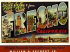 Greetings from Fresno California: Vintage Postcards from California's Heartland by William B. Secrest (Hardback, 2007)