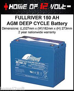 FullRiver-150-AH-AGM-VRSLA-Deep-cycle-Caravan-camper-trailer-Battery-DC150-12