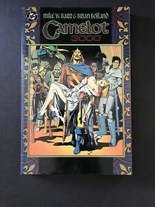 DC-Camelot-3000-TPB-Graphic-Novel-Trade-Paper-Back-Mike-Barr-Brian-Bolland