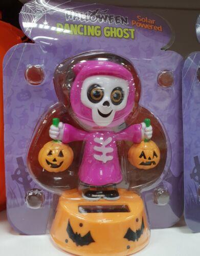 Energie Solaire Flip Flap Dancing Halloween fantôme citrouille Zombie voiture Dash Board