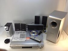 * Panasonic SC-HT441 5.1 Channel 5 Disc Changer Home Theater System