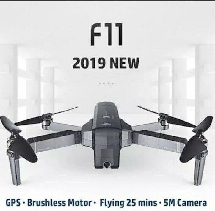 SJRC F11 GPS 5G WiFi FPV 1080P HD Camera Foldable RC Drone quadcopter 1 battery