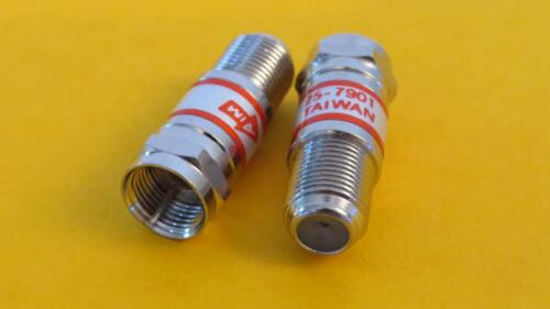 Emerson AIM 25-7901 Lot of 2   DC Voltage Block   F male to F female AIM