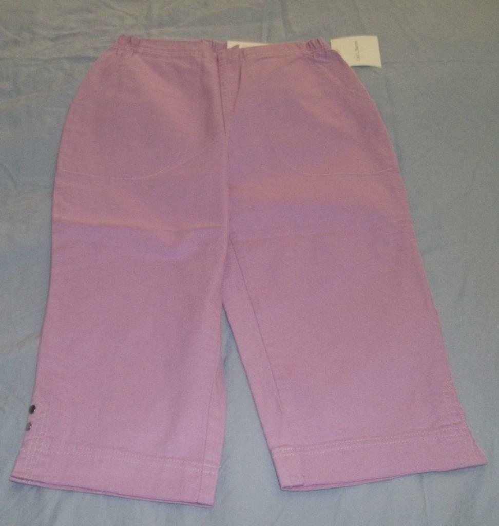 New Croft&Barrow Women's capris size 2 Petite
