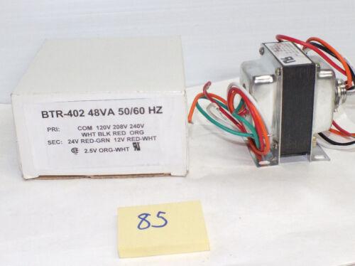 NEUF BEKO BTR-402 Transformateur 48VA PRI 120,208,240V sec 2,5:12:24V