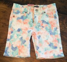 NWT Girls LEVIS Bermuda Adjustable Waist Stretch Denim Shorts Size 3T $36