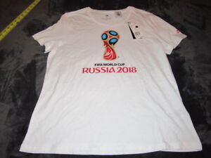 Adidas Womens FIFA World Cup Russia 2018 official t-shirt NWT Brand ... 0ee0b7978b