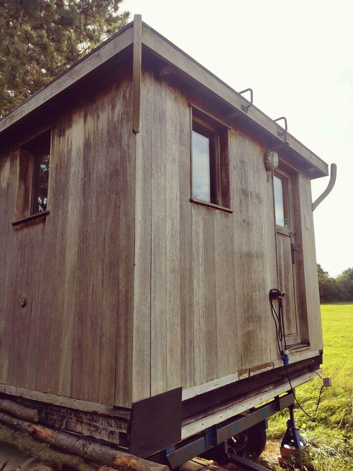 Tiny house, flytbart hus, skurvogn