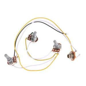 1-Set-Wiring-Harness-Prewired-2V1T1J-for-JB-Bass-Guitar-with-3-500k-Pots-New