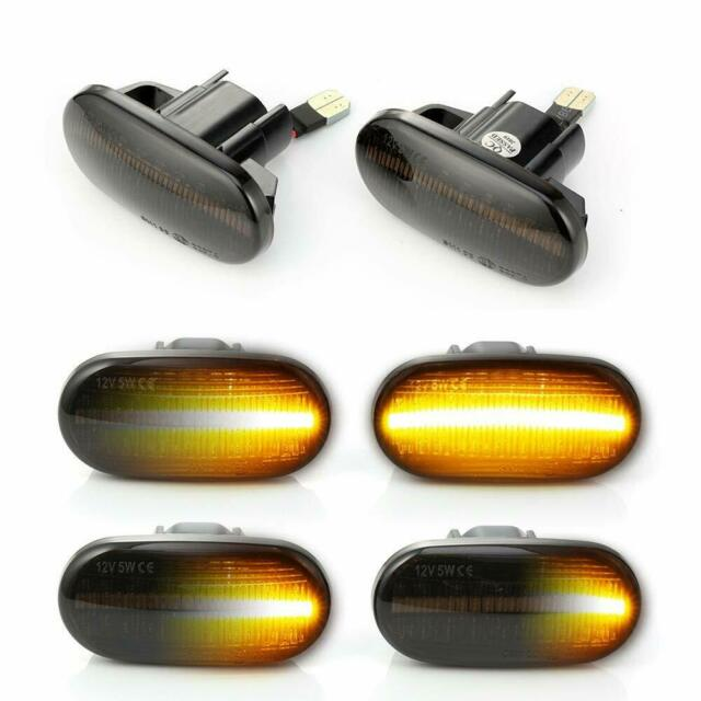2x For Honda Civic Acura Integra Dynamic Flowing LED Side