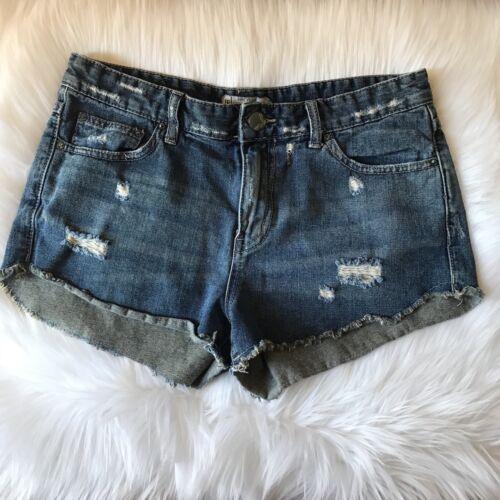 donna Pantaloncini taglia Distressed Denim Donna 28 jeans Free 55xrwpCv7q