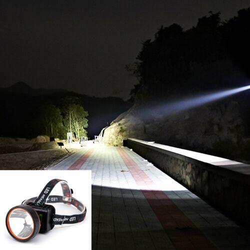 LED Headlamp Rechargeable Headlight Super Bright Flashlight Head Torch Light