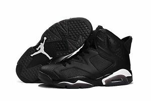 cd23f3b9257 Nike Air Jordan 6 VI Retro Black Cat Size 10 style 384664-020 ...