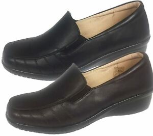 Ladies-Loafer-Moccasin-Womens-Casual-Comfort-Walk-Pumps-Slip-On-Shoes