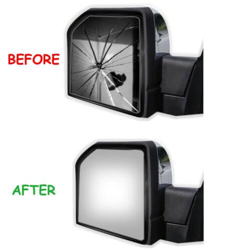 Outside Door Mirror Glass for 04-06 VOLVO S60 S80 V70 Passenger Right Side RH