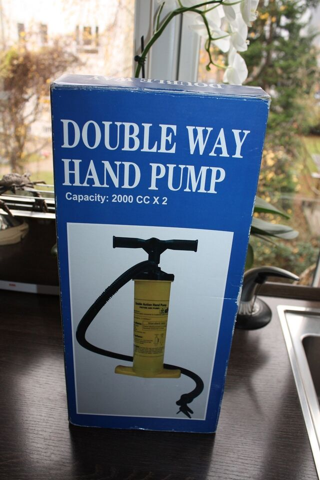 Pumpe dobbelt