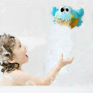 Outdoor Bubble Machine Bath Toy Baby Bubbles Maker Swimming Bathtub Soap Water Toys For Children With Music Bubbles