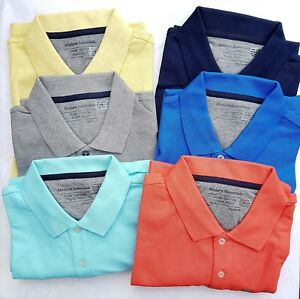 Mens-Polo-Shirt-EX-M-amp-S-Casual-Polo-Shirt-Regular-Fit-Size-S-3XL-RRP-15