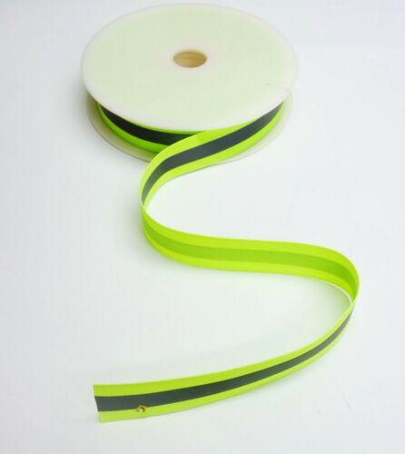 Deportes de poliéster ligero reflectante alta visibilidad de tela y cinta