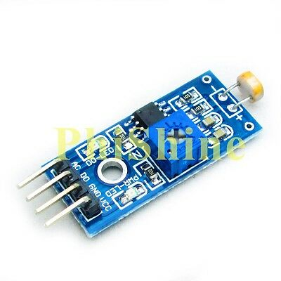 2PCS Digital Light Intensity Photosensitive Sensor Module Photo Resistor