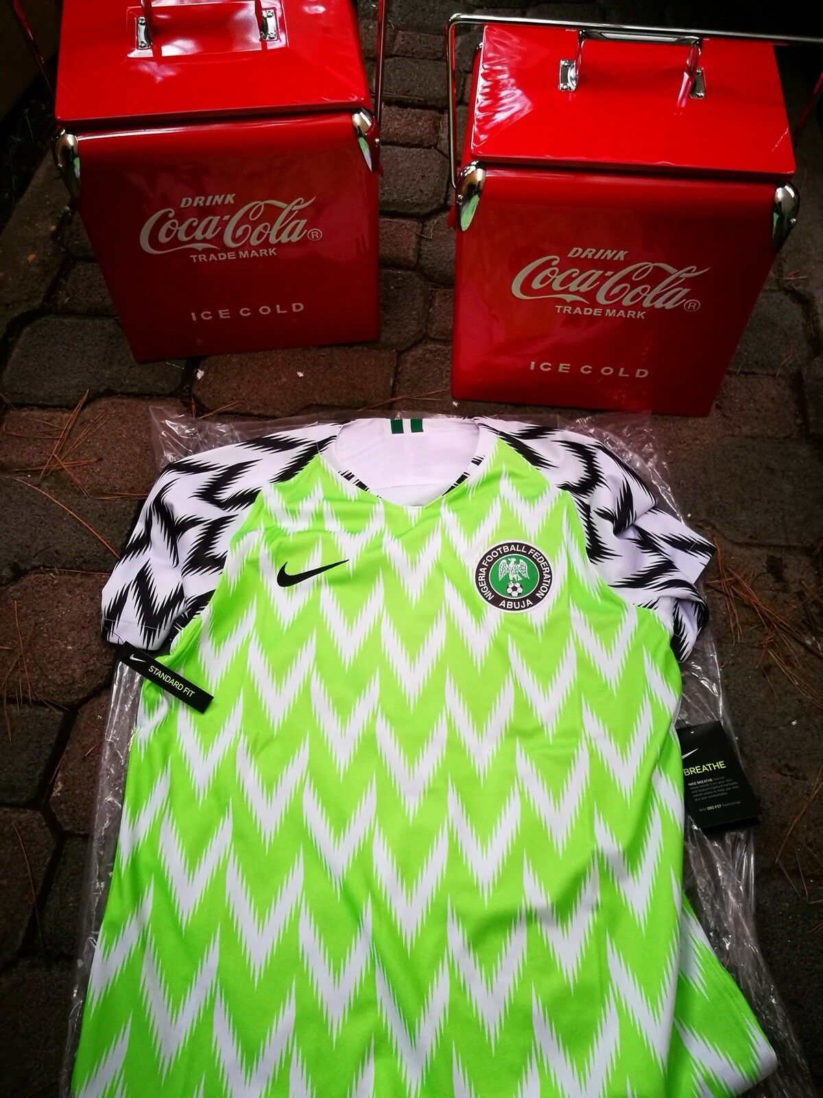XL Nigeria 2018 HOME JERSEY SHIRT SOLD OUT JERSEY