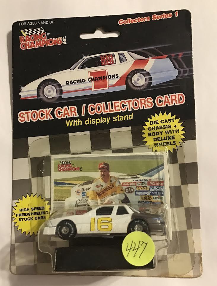 Parte inferior plana 1989  16 Larry Pearson Chattanooga mastiCoche Racing campeón coche  447