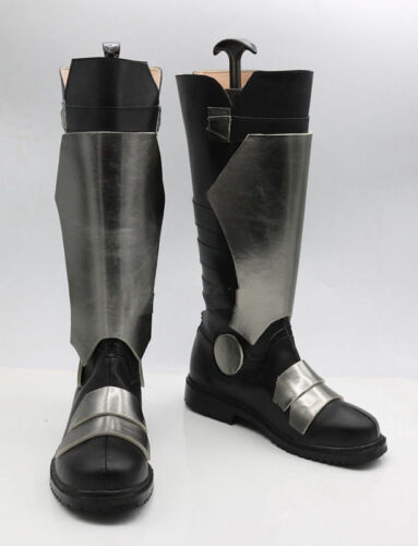 Game SOLDIER 76 Cosplay Boots Party Anime Shoes Custom Made////