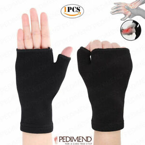PEDIMEND-Wrist-and-Thumb-Support-1PCS-For-Arthritis-amp-Joint-Pain-BLACK