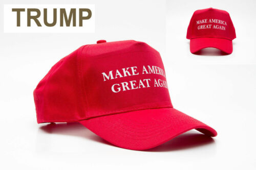 NEW Make America Great Again Hat Donald Trump 2016 Republican Adjustable Cap AA