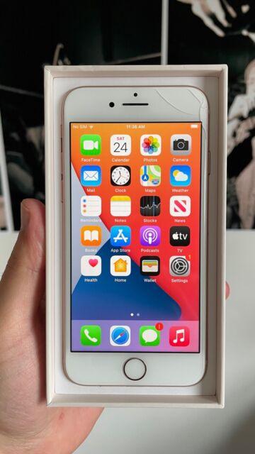 Apple iPhone 8 - 128GB - Gold (Unlocked) A1863 (CDMA + GSM)