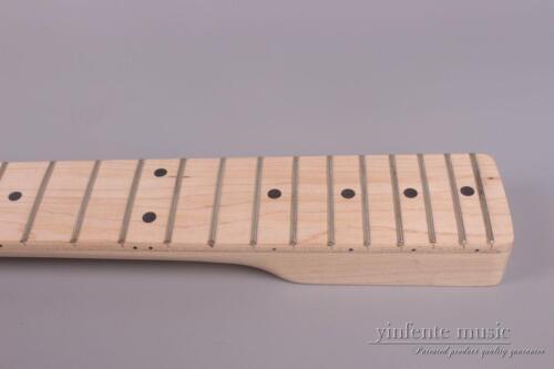 "Maple Electric guitar neck 21 Fret 25.5/"" Truss Rod Fretboard Solid wood #TL8"