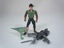 Jurassic Park Lost World Roland Tembo Pachycephalosaurus Dino Stun Prod COMPLETE