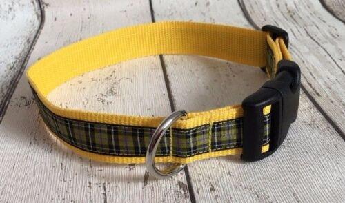 Collar de perro Cornish Nacional Tartán Funky Pet Supply Regalo Navidad Hecho a mano a Cuadros