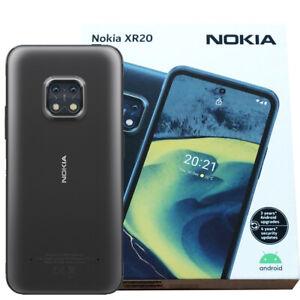 Nokia XR20 5G (Granite) 64GB + 4GB RAM Android Phone - GSM Unlocked (No CDMA)