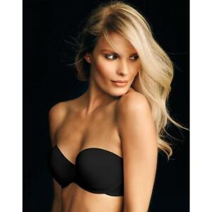 c9c89559a1f80 Maidenform 9472 Smooth Luxe Strapless Extra Coverage Bra 40 D Black ...